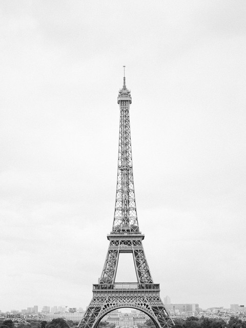 Eiffel Tower on film
