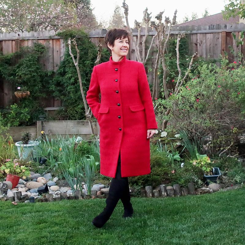 Red coat 16