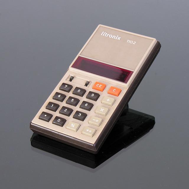 LITRONIX 1102 Calculator