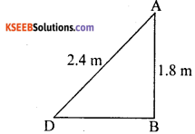 KSEEB Solutions for Class 10 Maths Chapter 2 Triangles Ex 2.6 24