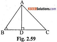 KSEEB Solutions for Class 10 Maths Chapter 2 Triangles Ex 2.6 8