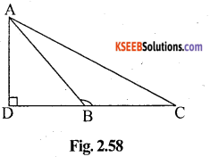 KSEEB Solutions for Class 10 Maths Chapter 2 Triangles Ex 2.6 7