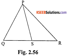 KSEEB Solutions for Class 10 Maths Chapter 2 Triangles Ex 2.6 1