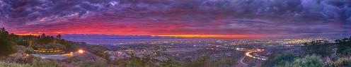underlit sunset newportbeach