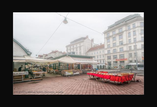 Around Vienna's Naschmarkt
