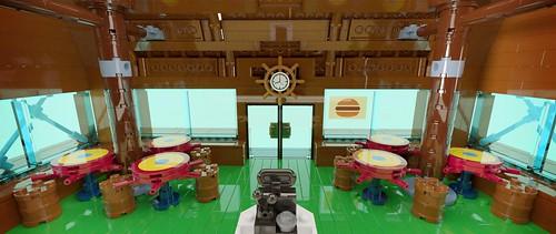Krusty Krab - Seating Area 02