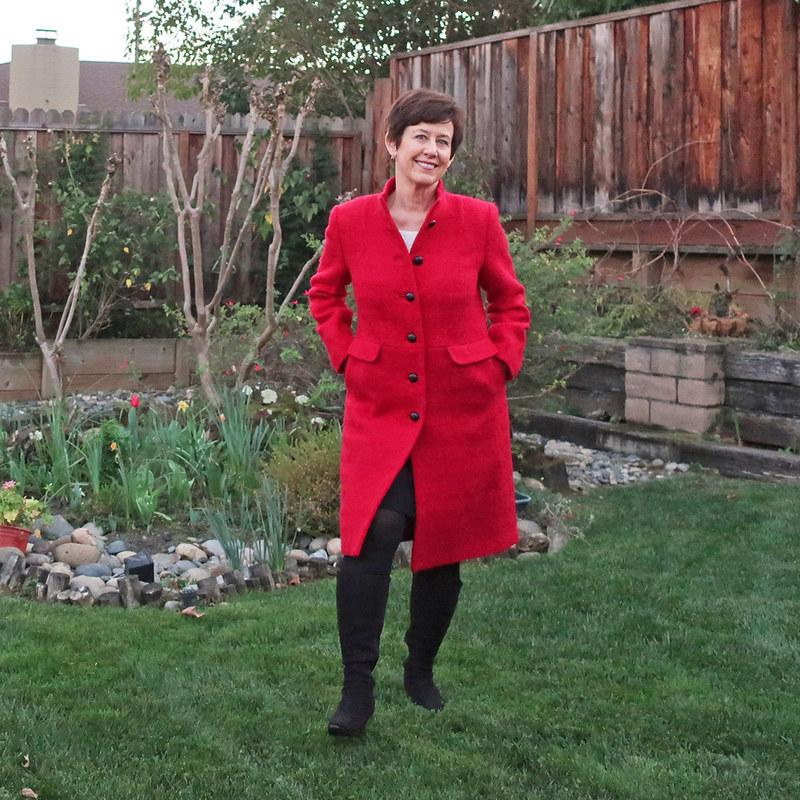 Red coat 19