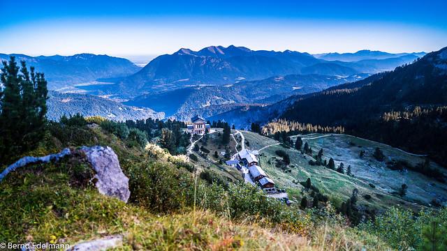 Unterwegs im Wettersteingebirge ...