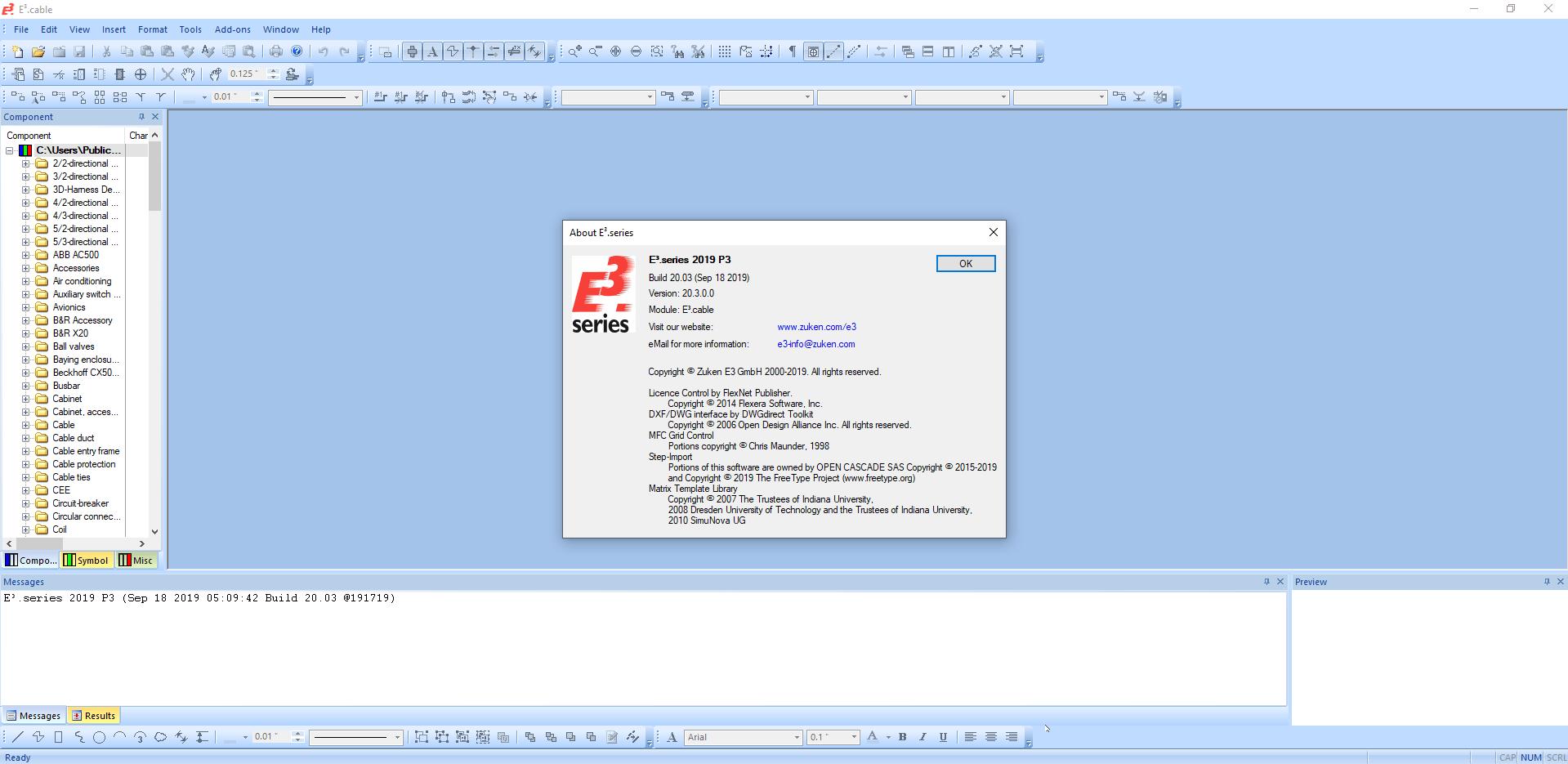 Working with Zuken E3.series 2019 SP1 full license