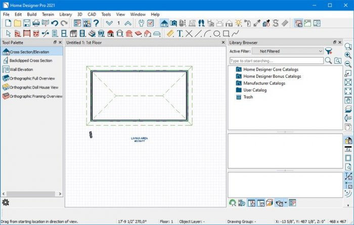 Working with Chief Architect Home Designer Pro 2021 full license