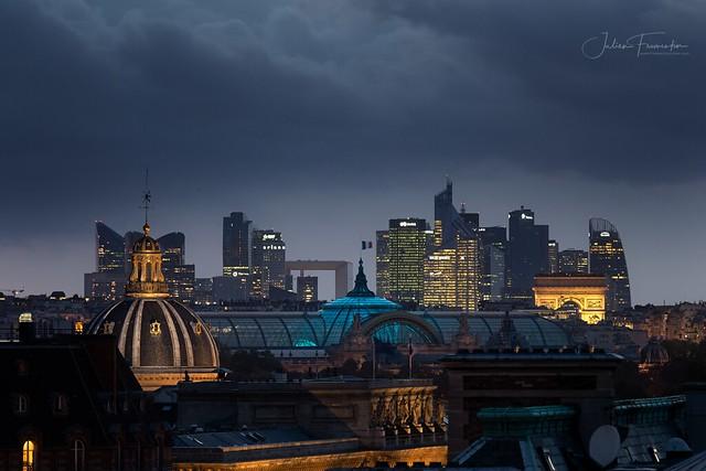 Grand Palais, La Défense, Institut de France & Arc de Triomphe, Paris