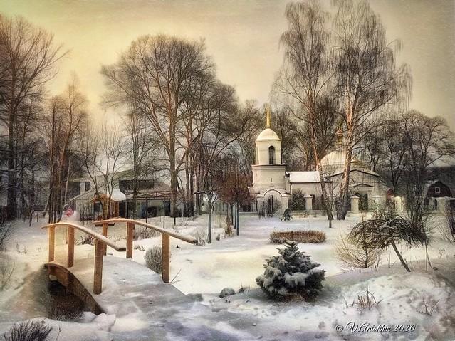 Winter day in Kutepovo.(iPhoneX)