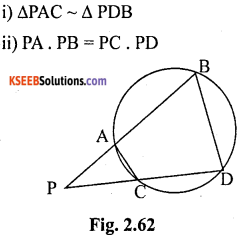 KSEEB Solutions for Class 10 Maths Chapter 2 Triangles Ex 2.6 16