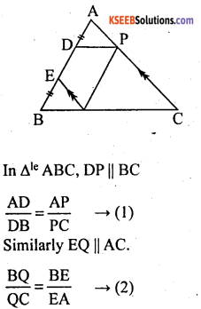 KSEEB Solutions for Class 10 Maths Chapter 2 Triangles Additional Questions 34