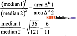 KSEEB Solutions for Class 10 Maths Chapter 2 Triangles Additional Questions 9