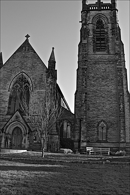 St Nicholas Church  Monochrome
