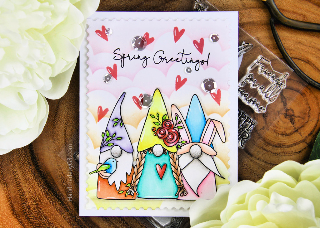 Spring Greetings card1