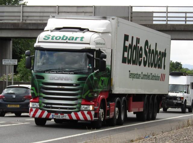 Eddie Stobart PO66 UPT (Tilly Mae) At Welshpool