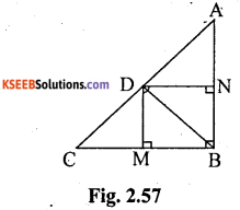 KSEEB Solutions for Class 10 Maths Chapter 2 Triangles Ex 2.6 4