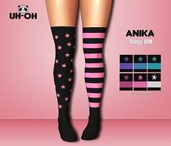 uh-oh: Anika Stars & Stripes Socks