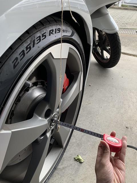 Audi RS3 純正ホイール