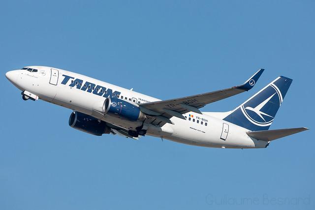 Boeing 737-700 TAROM YR-BGH cn 28438/1394
