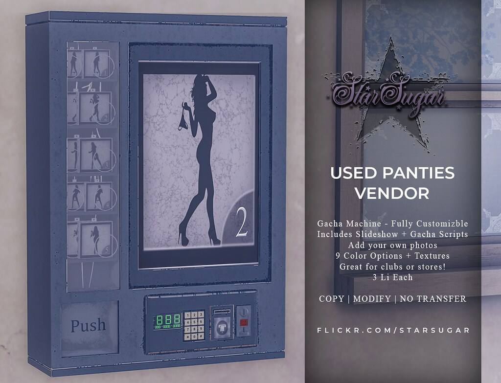 Used Pantie Vendor