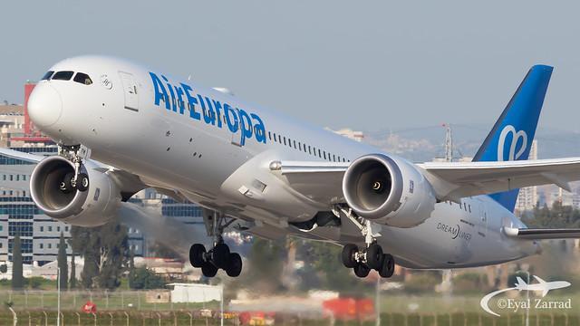 TLV - Air Europa Boeing 787-9 EC-NFM