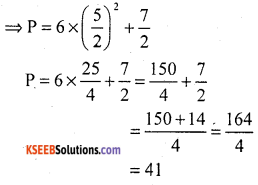 KSEEB Solutions for Class 10 Maths Chapter 9 Polynomials Additional Questions 10