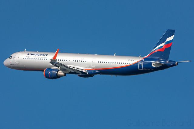 Airbus A321 Aeroflot VP-BEG MSN 6756