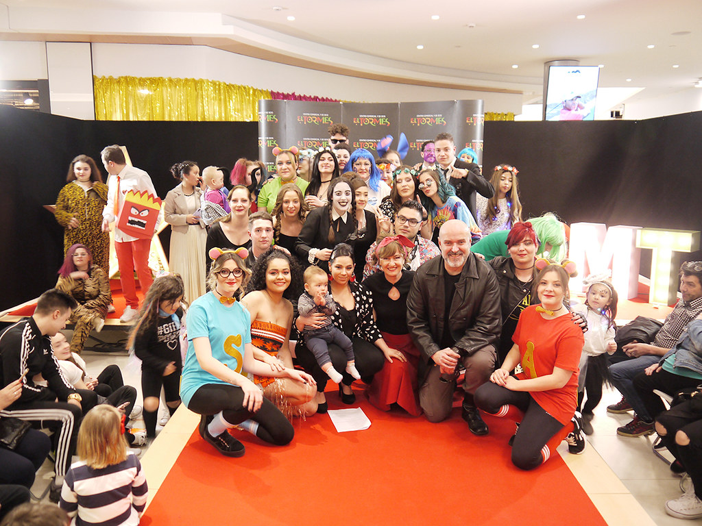 Desfile disfraces de cine CC El Tormes (1)