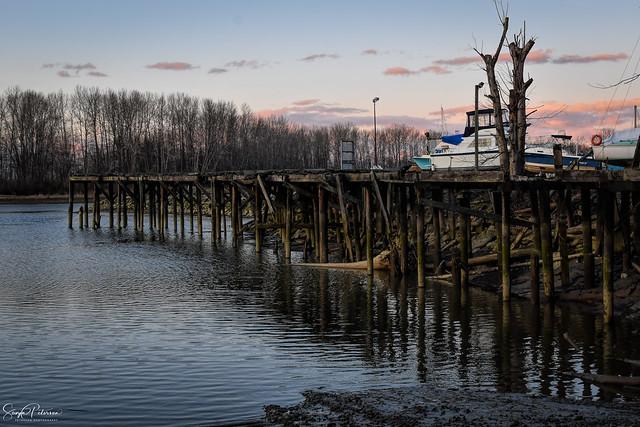 Old Dock at the Marina - Ladner, BC