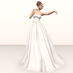 Eleanor Bride Gown +Trilogy Rainbow Crystals jewels