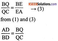 KSEEB Solutions for Class 10 Maths Chapter 2 Triangles Additional Questions 35