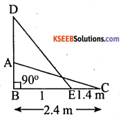 KSEEB Solutions for Class 10 Maths Chapter 2 Triangles Additional Questions 33