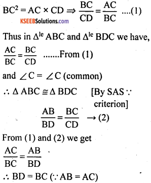 KSEEB Solutions for Class 10 Maths Chapter 2 Triangles Additional Questions 18