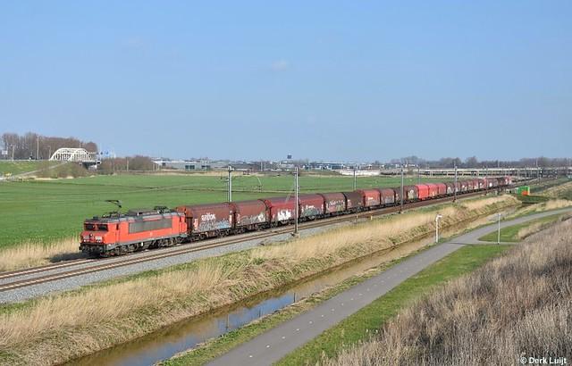DB Cargo 1615, Moordrecht, 7-3-2020 10:59