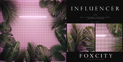 FOXCITY. Photo Booth - Influencer (Pink)