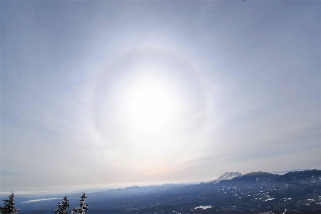 日暈(ハロ現象)