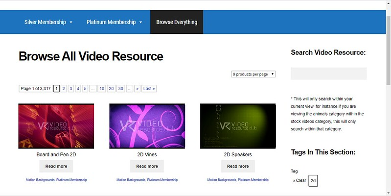 Video Resource Club Review