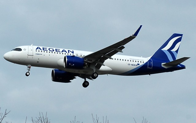 A3/AEE Aegean Airlines Airbus A320 SX-NEB