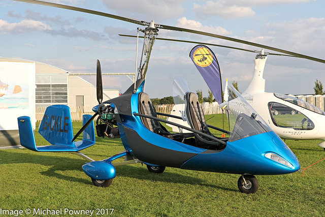 G-CKLE - 2017 build RotorSport UK MTO Sport 2017, exhibited at Sywell during the 2017 LAA Rally