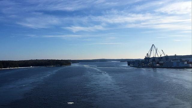 Kennebec River ~ Winter Series no. 10