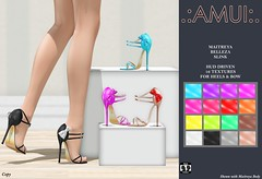 """.:AMUI:. """"Portia"""" Heels"""