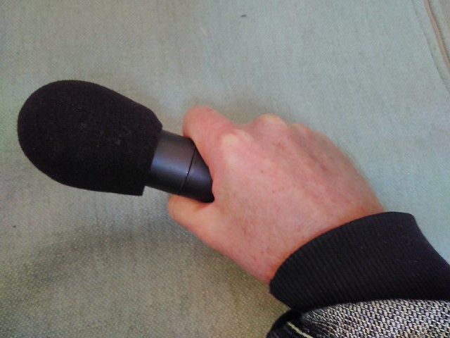How to hold a microphone
