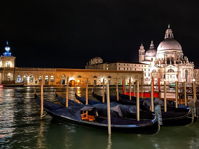 Venice by night!