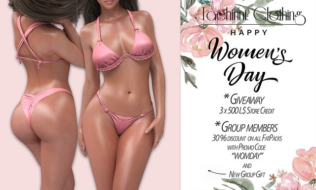 Tachinni - Women's Day GIFT & DISCOUNTS