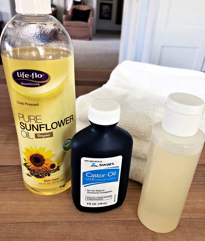 ingredients for all-natural face wash