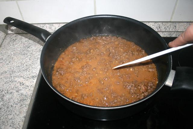 20 - Sauce heiß werden lassen / Let sauce get hot