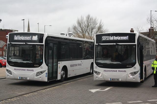 Felixstowe Travel (M80FXO + M20FXO)